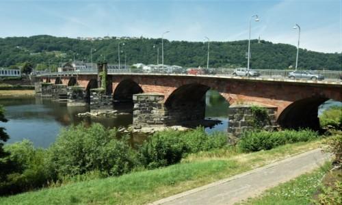 Zdjecie NIEMCY / Nadrenia Pallatynat / Trewir / Trewir, most rzymski