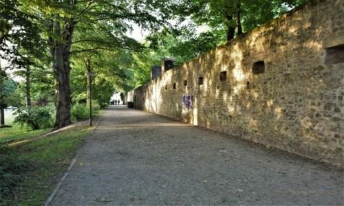 Zdjecie NIEMCY / Nadrenia Pallatynat / Trewir / Trewir, mury miejskie