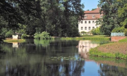 Zdjecie NIEMCY / Brandenburgia / Park Krajobrazowy w Branitz / pałac księcia  Pücklera...