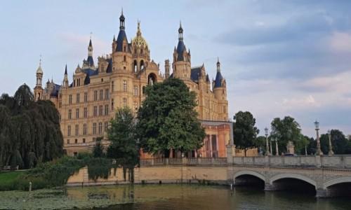 Zdjecie NIEMCY / Północne Niemcy / Miasto Schwerin / Zamek w Schwerin