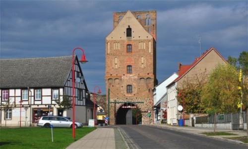 Zdjecie NIEMCY / Brandenburgia / Gartz (Oder) / Gartz (Oder), przygraniczne klimaty