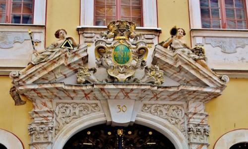 Zdjecie NIEMCY / Saksonia / Goerlitz / Detale kamienic