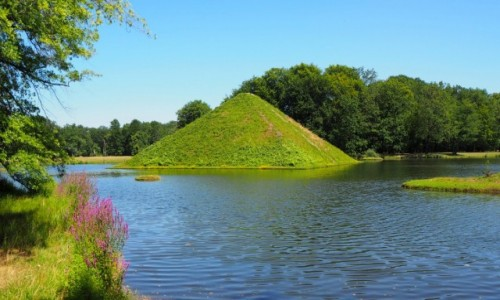 NIEMCY / Brandenburgia / Park Krajobrazowy w Branitz / ogrodowa fantazja Pucklera...