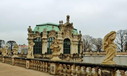 Zdjecie NIEMCY / Saksonia / Drezno / Zwinger