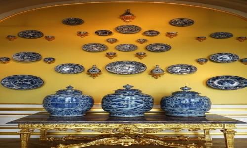 NIEMCY / Saksonia / Drezno / Zwinger - kolekcja porcelany chińskiej
