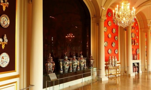 Zdjęcie NIEMCY / Saksonia / Drezno / Zwinger - kolekcja porcelany chińskiej