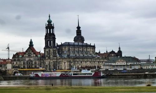 Zdjęcie NIEMCY / Saksonia / Drezno / panorama starego miasta
