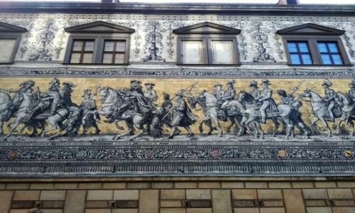 Zdjecie NIEMCY / Saksonia / Drezno / galeria królów i elektorów saskich