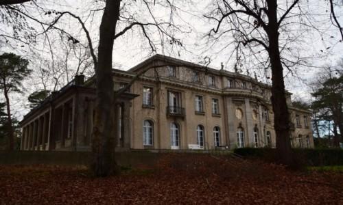 Zdjecie NIEMCY / Stolica / Berlin Wannsee / Pałacyk
