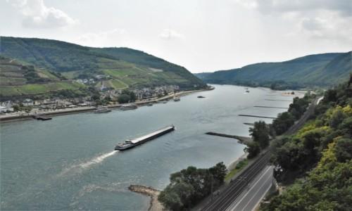 Zdjęcie NIEMCY / Nadrenia Pallatynat / Rüdesheim am Rhein / Assmannshausen