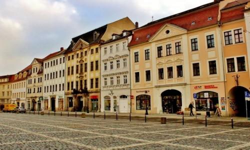 Zdjecie NIEMCY / Saksonia / Żytawa / Kamieniczki w rynku