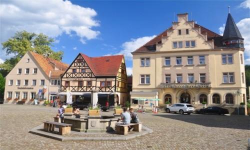 Zdjecie NIEMCY / Saksonia / Stadt Wehlen / Rynek w Stadt Wehlen