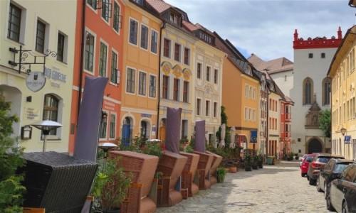 Zdjecie NIEMCY / Saksonia / Bautzen / Uliczka w Bautzen