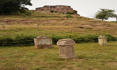 Zdjecie NIEMCY / Nadrenia Pallatynat / Frankenstein / Frankenstein, widok z okolic kościoła Ewangelickiego