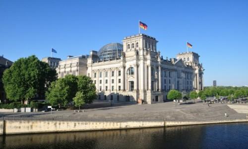 Zdjecie NIEMCY / Berlin / Berlin / Gmach parlamentu Rzeszy w Berlinie
