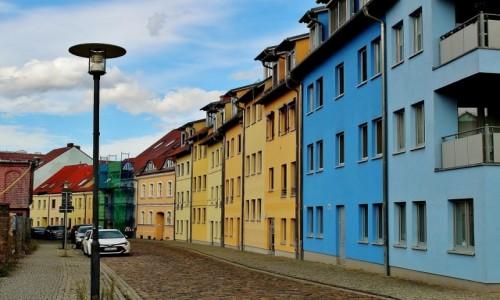 Zdjecie NIEMCY / Brandenburgia / Frankfurt nad Odrą / Fischerstrasse/ulica Rybacka/