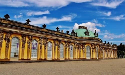 Zdjecie NIEMCY / Brandenburgia / Poczdam / Pałac Sanssouci z 1747 roku
