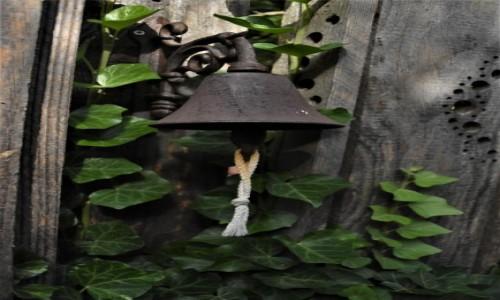 Zdjęcie NIEMCY / Nadrenia Pallatynat / Wachenheim / Wachenheim, dzwonek do furtki