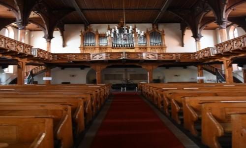 Zdjecie NIEMCY / Nadrenia Pallatynat / Wachenheim / Wachenheim, kościół ewangelicki
