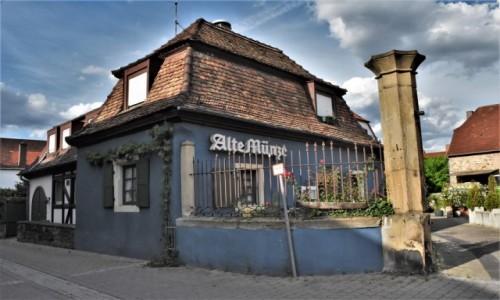 Zdjęcie NIEMCY / Nadrenia Pallatynat / Wachenheim / Wachenheim, stary młyn