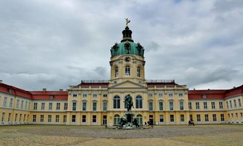 NIEMCY / Berlin / Berlin / Pałac Charlottenburg z 1699 roku