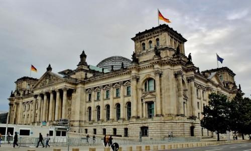 Zdjecie NIEMCY / Berlin / Berlin / Budynek Reichstagu z 1894 roku