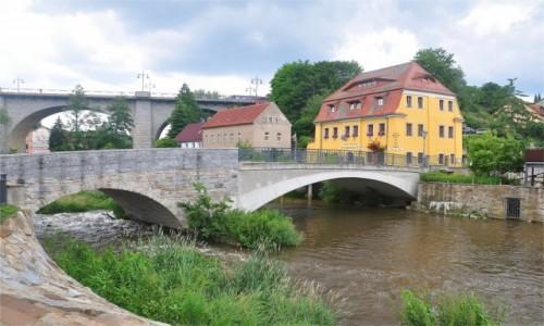 NIEMCY / Saksonia / Bautzen / Mosty w Bautzen