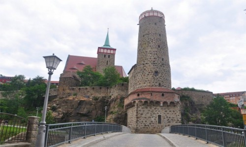 NIEMCY / Saksonia / Bautzen / Architektura Budziszyna