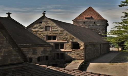 NIEMCY / Nadrenia Pallatynat / Maulbronn / Maulbronn, mury klasztoru