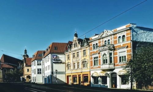 NIEMCY / Brandenburgia / Cottbus / Ulica w centrum