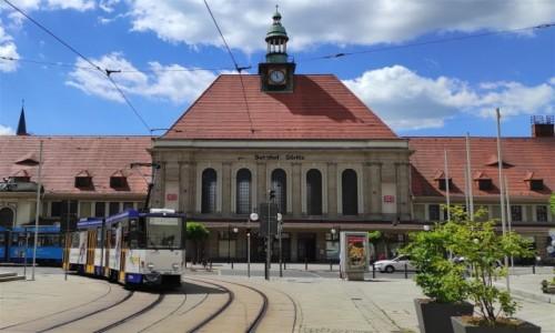 Zdjecie NIEMCY / Saksonia / Görlitz / Dworzec kolejowy w Görlitz