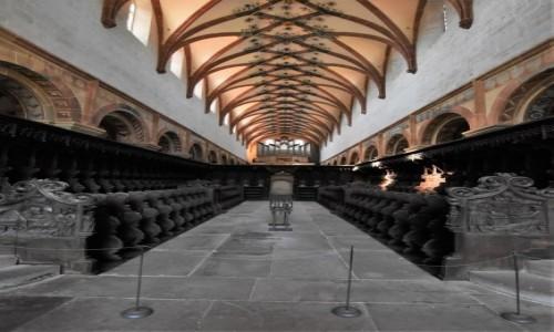 Zdjecie NIEMCY / Badenia Witenbergia / Maulbronn / Maulbronn, kościół klasztorny, stalle