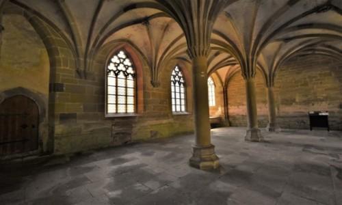 NIEMCY / Badenia Witenbergia / Maulbronn / Maulbronn, klasztor, kapitularz