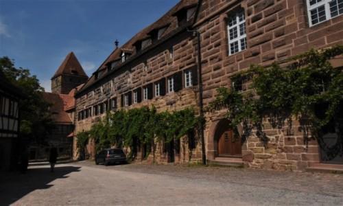 NIEMCY / Badenia Witenbergia / Maulbronn / Maulbronn, klasztor, zakamarki