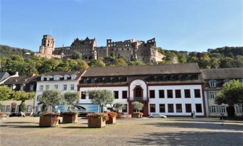 Zdjecie NIEMCY / Badenia Witenbergia / Heidelberg / Heidelberg, widok na zamek