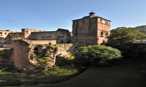 NIEMCY / Badenia Witenbergia / Heidelberg / Heidelberg, zamek