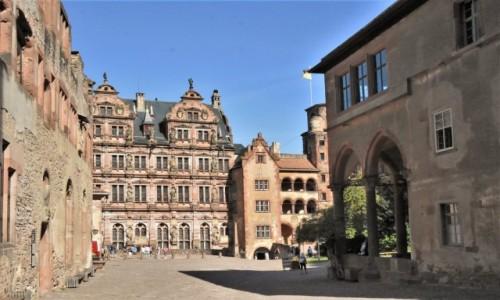Zdjecie NIEMCY / Badenia Witenbergia / Heidelberg / Heidelberg, zamek