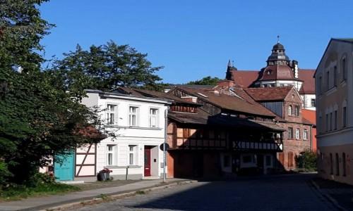 NIEMCY / Brandenburgia / Cootbus / te mniej uczęszczane uliczki w mieście