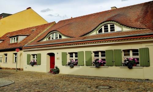 Zdjecie NIEMCY / Brandenburgia / Frankfurt nad Odrą / Fischerstrasse 53 - dom z 1735 roku