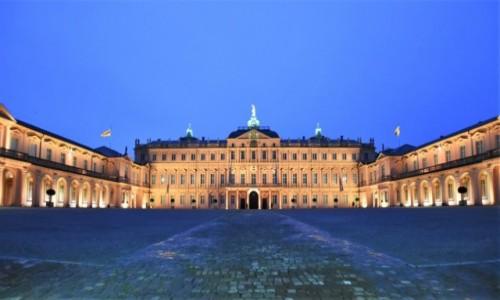 Zdjęcie NIEMCY / Badenia Witenbergia / Rastatt / Rastatt, pałac