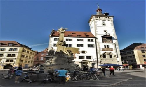 Zdjęcie NIEMCY / Frankonia / Wurzburg / Wurzburg, ratusz