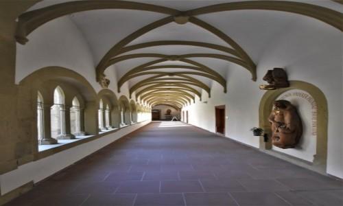 Zdjecie NIEMCY / Frankonia / Wurzburg / Wurzburg, klasztor franciszkanów