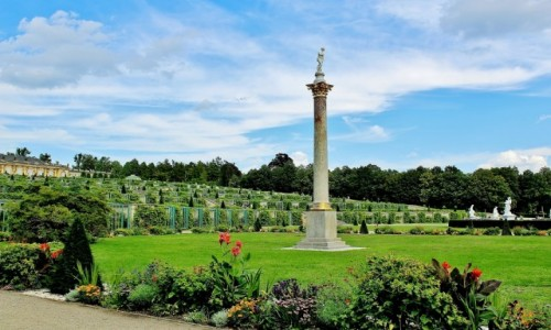 NIEMCY / Brandenburgia / Poczdam / Park Sanssouci