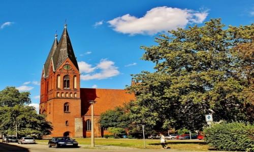 Zdjecie NIEMCY / Brandenburgia / Frankfurt nad Odrą / Kościół Pokoju z XIII wieku