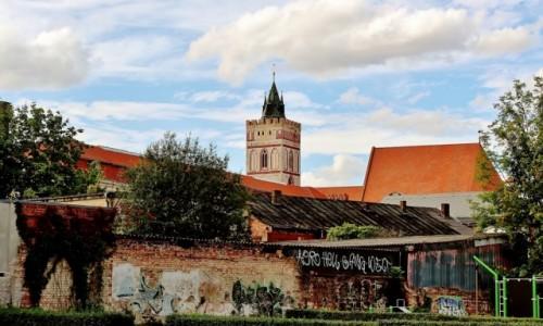 Zdjecie NIEMCY / Brandenburgia / Frankfurt nad Odrą / Przegląd architektury