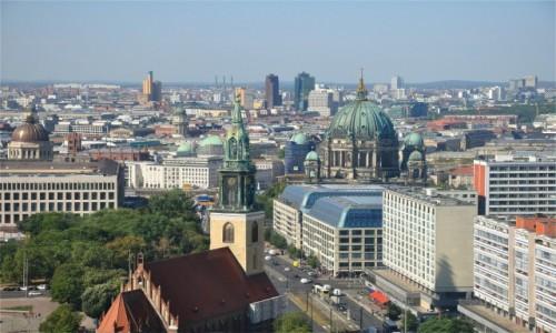 Zdjęcie NIEMCY / Berlin / Berlin / Panorama wielkiego miasta