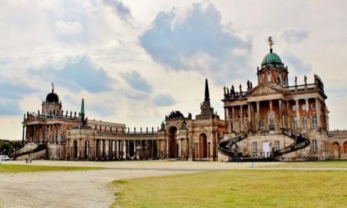 Zdjecie NIEMCY / Brandenburgia / Poczdam / Uniwersytet Poczdamski w budynkach z XVIII wieku