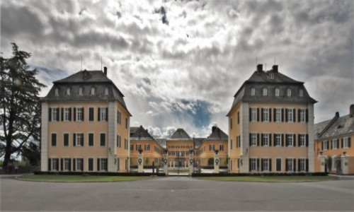 NIEMCY / Nadrenia Pallatynat / Johannisberg / Johannisberg, kompleks pałacowy