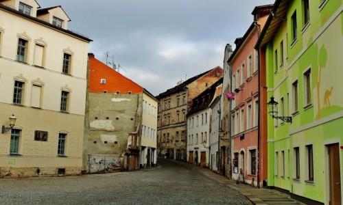 Zdjęcie NIEMCY / Saksonia / Żytawa / Uliczka w Żytawie