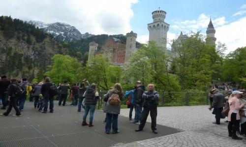 Zdjecie NIEMCY / Poludniowa Bawaria / Schwangau / Bajkowy zamek Ludwika II Bawarskiego